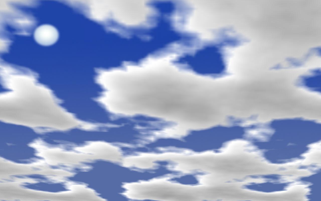Gt Protector De Pantalla De Nubes Solo Para Compartir